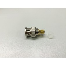 BNC male to SMA socket adapter